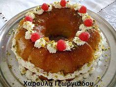 Haroula's Kitchen (συνταγολόγιο μαγειρικής- ζαχαροπλαστικής): ΜΠΑΜΠΑΣ (Της Βέφας Αλεξιάδου) Greek Desserts, Love Is Sweet, Cake Pops, Pudding, Sweets, Breakfast, Ethnic Recipes, Food, Poems