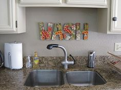 Want to make this for the laundry room. Not so much the kitchen.