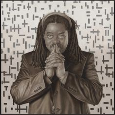 Courtney Pine  150 x 150 cm 2010
