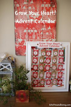 Bit of Tea and Honey: Grow Your Heart Advent Calendar