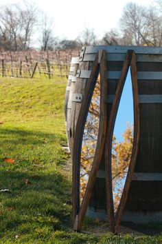 20 Unusual Diy Wine Barrel Ring Ideas For Home Looks Amazing Wine Barrel Crafts, Wine Barrel Rings, Wine Barrels, Wine Crates, Wine Time, Rhode Island, Eleven Madison Park, Barris, Barrel Projects