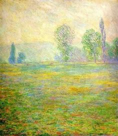 Meadows at Giverny-Monet