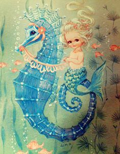 Serena....Mermaid in Spanish.  Maybe spelled a little differently....I NEED this to go with my other mermaid pictures!