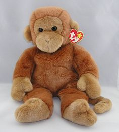 Beanie Buddies 19206  Ty Beanie Buddy Bongo The Soft Brown Monkey 14 Plush  Stuffed Animal New -  BUY IT NOW ONLY   24.99 on  eBay  beanie  buddies   buddy ... 56be69bb3c4c