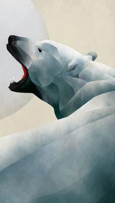 North Pole No Ice Sheets by KUI2524 , via Behance
