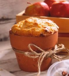 Cheese and Apple Loaves          From: Better Homes and Gardens          To give as gifts, bake loaves in glazed baking pots or use foil loaf pans. Wrap  loaves in plastic wrap, tie with twine, and include in a basket or small crate with fresh fruit.