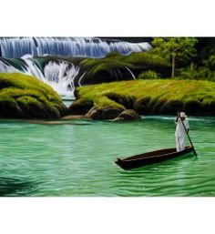 LA HUAXTECA  Cesar Plascencia´s photorealistic work portrays Mexico in a majestic manner. His art is full of texture, color and life. If you sometime wonder what your life could be in this country, it would be enough to take a glance at one of Cesar´s paintings to find out