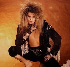 Sebastian Bach wallpaper probably containing appeal and a thigh boot in The Sebastian Bach Club