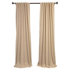 Frame a window in your master suite or office with this flowing blackout curtain, perfect layered with sheer drapes for a textured look.