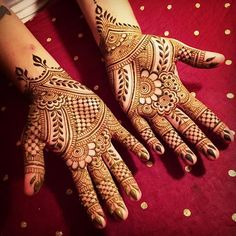 Stylish Mehandi Design For Any Occasion, Wedding Mehandi Design Henna Hand Designs, Mehandi Designs, Karva Chauth Mehndi Designs, Mehndi Designs For Hands, Henna Tattoo Designs, Heena Design, Henna Tattoo Hand, Hand Mehndi, Arabic Mehndi