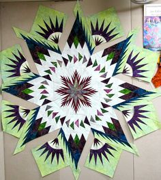 Glacier Star (Very pretty, but don't know if I have the patience to complete this!)
