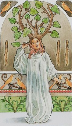 3 of Wands - Sorcerers Tarot by Antonella Castelli for Lo Scarabeo