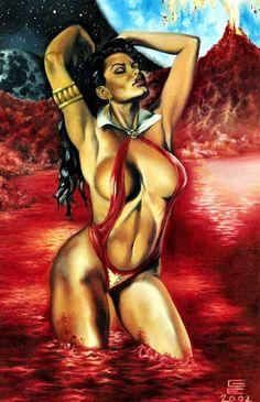 Vampirella •Gene Espy