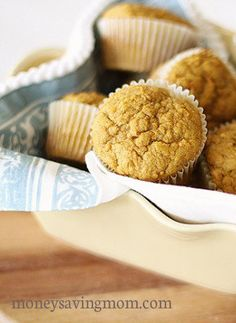 Pumpkin Carrot Cake Muffins -- these are freezer friendly!
