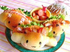 Cinnamoroll Sandwich Kawaii Sanrio Food