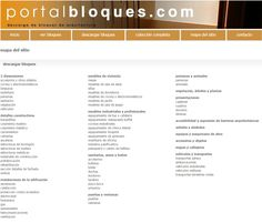 Descarga gratuita de bloques de AutoCAD