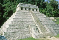 Temple of the Inscriptions, Palenque: Very well preserved, the Temple of the Inscriptions is named for hieroglyphics found inside. (Photo Credit: Wolfgang Meier/Corbis)
