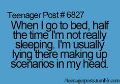 teenager post | Teenager Post | We Heart It... Haha so true!