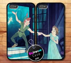 Peter Pan and Wendy Go To Neverland Disney iPhone 5 Case Couple Hard Plastic