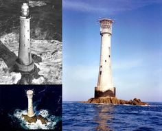 Bishop Rock holds the Guinness Book of World Records title of smallest island in the world. An amazing lighthouse, built in 1858, is the only thing stands on this tiny island off the coast of Britain.