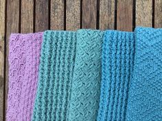 karklud Dishcloth Knitting Patterns, Knit Dishcloth, Knitting Stitches, Knitted Blankets, Diy And Crafts, Knit Crochet, Burlap, Sewing, Handmade