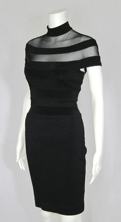 black sheer dress...Beautiful, imagine this in your wedding colors. Add embellishments that fit your wedding theme. Cheaper to have custom-made than purchasing from salon.