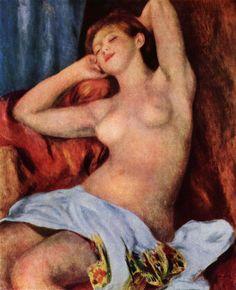 Renoir, Pierre-Auguste: Schlafende Baigneuse - Gemeinfrei
