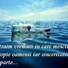 traim avremuri in care minciuna apropie oamenii iar sinceritatea ii desparte.