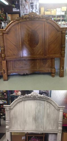 Make something old - new again, with a little #Dixiebellepaint Drop cloth!   Chalk mineral paint to the rescue.