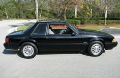 Learn more about Trooper-Spec: 1993 Ford Mustang LX Notch on Bring a Trailer, the home of the best vintage and classic cars online. Black Mustang, 1993 Ford Mustang, Fox Body Mustang, Ford Mustang Coupe, Mustang Cobra, Ford Mustangs, Notchback Mustang, Mercury Capri, Mustang For Sale