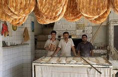 Iranian Bakery Shop