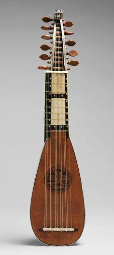 Mandolino, ca. 1710–20 Attributed to Giovanni Smorsone (Italian, active 1702–38) Rome