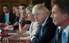 Foreign Secretary Boris Johnson attends a cabinet meeting hosted by Theresa May…