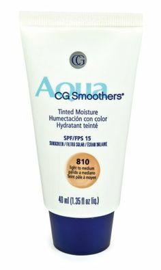 CoverGirl Smoothers SPF 15 Tinted  Moisturizer, Light To Medium 810, 1.35-Ounce Packages (Pack of 2) by COVERGIRL. $12.48. Save 16%!