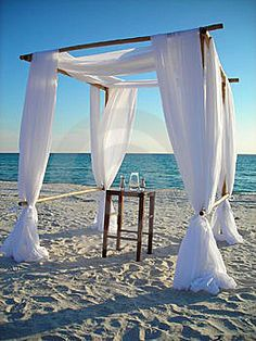 Hot Special - Bamboo Beach Wedding Arch - Beach Weddings (fabric Optional)