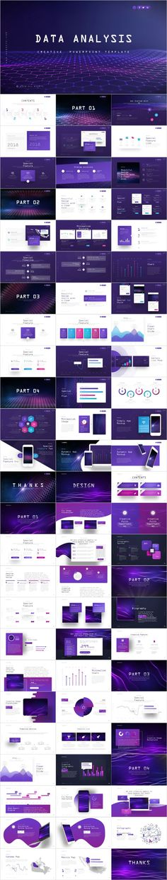 2 in 1 blue Data Analysis design PowerPoint templateYou will get to love this presentation temp. Cool Powerpoint, Simple Powerpoint Templates, Professional Powerpoint Templates, Keynote Template, Powerpoint Presentations, Presentation Software, Presentation Layout, Presentation Backgrounds, Presentation Slides