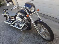 Used 2002 Harley-Davidson DYNA WIDE GLIDE CVO Motorcycles For Sale in California,CA. There were about 1950 of the 2002 FXDWG3 CVO's built in 2002. The FXDWG3 is based on the Dyna Wide Glide and is powered by a Twin Cam 88 motor. The factory slammed front and rear suspensions lower the bike for a road-hugging look and feel. A full length Tank Console (designed by Willie G. Davidson), and the Silver-faced Speedometer, along with the Lightning Star Wheels, slash-cut Exhaust and billet-style…