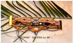 "Bracelet manchette aimanté ""AUTOMNE"" by GALATÉA : Bracelet par nellykreations"
