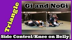 Side Control / Knee on Belly Triangle #NoGi #Gi #BJJ - YouTube Grappling Dummy, Triangle, Gym, Youtube, Excercise, Youtubers, Youtube Movies, Gymnastics Room, Gym Room