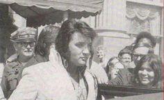 Elvis at the Mayo Hotel in Tulsa, Oklahoma