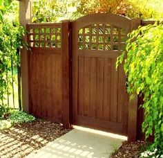 Fence Gate prowell's craftsman fence gate #4 | fence | pinterest | fence gate