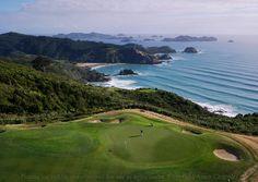 Campo de golf de Kauri Cliffs, Nueva Zelanda