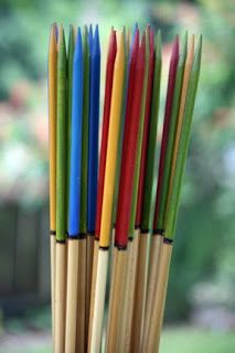 Oversized Pickup Sticks | courage to create: yard games