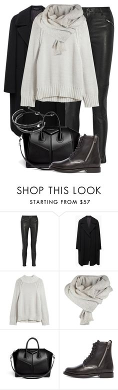 """Untitled #1918"" by annielizjung ❤ liked on Polyvore featuring BLK DNM, Yohji Yamamoto, Givenchy, Yves Saint Laurent and Links of London"