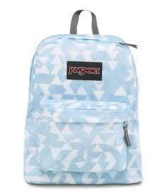 "JanSport SUPERBREAK BLUE HAZE CUT N PASTE | 25L 16.7"" x 13"" x 8.5"" 