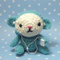 Amigurumi Ipod Monkey by amigurumikingdom