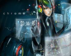 Google Chrome Anime ver