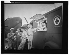 American Red Cross Mobile Canteen Unit American Red Cross Volunteer, Blood Drive, Vintage Nurse, Skill Training, Winston Churchill, Life Is Like, The Good Old Days, Back In The Day, Street Food