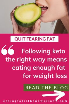 Check out this keto weight loss blog that will show you how to eat more to lose weight on a low carb diet & learn if you're eating enough healthy fats to lose weight on a keto diet. Keto is a high fat diet, so if you're not eating enough fat, you may end up in a weight loss plateau! If you're following a keto diet for beginners, eating enough healthy fats is important when it comes to sustainable weight loss on keto. I lost 100+ lbs + I've been able to stick to keto by eating more healthy fats. Weight Loss Blogs, Weight Loss Before, Weight Loss Goals, Fast Weight Loss, Healthy Weight Loss, Extreme Workouts, High Fat Diet, Weight Loss Results, Keto Diet For Beginners