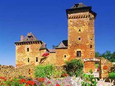 Chateau de Columbier - Salles La Source, Aveyron,  Midi-Pyrenees - different from Chateau Columbieres, Basse Normandie